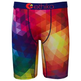 Wholesale Mens Long Sexy Underwear - Ethika New Style Men's Fashion Boxer Underwear Mens Long Boxers Shorts Cotton Undershorts Sexy Boxers