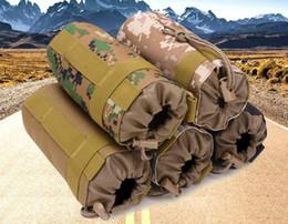 Al aire libre Molle Botella de Agua Bolsa Tactical Gear Kettle Cintura Bolsa de Hombro para Aficionados del Ejército Escalada Camping Senderismo Bolsas para DHL desde fabricantes
