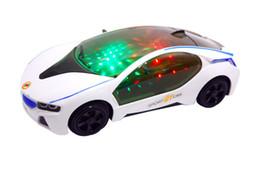 538c66935c Auto giocattolo per bambini Universal BMW Auto elettrica Lanterna musicale  multifunzione modello di auto sportiva di