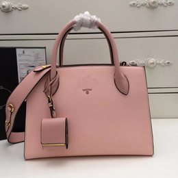 Wholesale Spring Women Handbags - women designer handbags luxury famous brand high quality genuine leather bags spring summer fashion classical grace ladies purses fast ship
