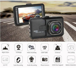 definition electronic Coupons - 3 Inch Dash Car Camera DVR HD 1080P High Definition Recorder 170 Wide-angle Driving Recorder Car DVR