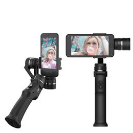 Gopro kardanischen online-Erfassen Sie 3-Achsen-Handkardan-Stabilisator für Smartphone GoPro 6 SJcam XiaoYi 4k-Kamera nicht DJI OSMO 2 ZHIYUN FEIYU