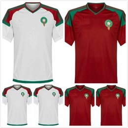 Wholesale Men S Formal Shirts - Morocco 2018 World Cup Kit soccer jerseys football t shirt ready for sale! The final version is based on the formal version