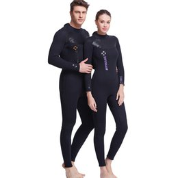 Wholesale Women For Sail - DIVE & SAIL 3MM Neoprene Wetsuit Men Diving Suit For Women Surfing Swimsuit Wetsuit For Warm Swimming Suit UV Long Sleeve Surfing Full Vest