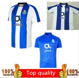 AAA + 2018 2019 Porto football team jersey blue and white jersey Porto 18  19 MAREGA Silva ABOUBAKAR third football shirt custom club 8cffe45bc