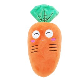 2019 акустические игрушки ежи оптом Мультфильм морковь Shaped мягкие игрушки с вниз хлопок творческий милый моделирование плюшевые игрушки супер мягкая подушка интимный подарок для девочек