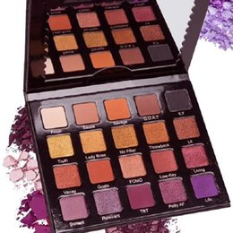 Wholesale New Year Set - 2018 New Year and VIOLET VOSS Pro EYE SHADOW PALETTE 20 colors eyeshadow palette top quality 1PCS