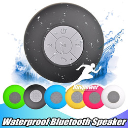 Canada Pour Samsung S8 IPX4 mains libres haut-parleurs de douche étanches sans fil Mini haut-parleur Bluetooth Tous les périphériques ordinateur portable pour salle de bains Piscine utilisation de bateau cheap bluetooth hands free used Offre