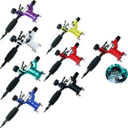 Pistola rotativa libélula online-Dragonfly Rotary Tattoo Machine Shader Liner Surtido Tatoo Motor Kits Suministro 7 colores Tattoo Guns Envío de DHL