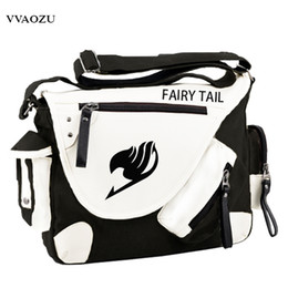2019 erza cosplay Mode Japan Style Anime Fairy Tail Umhängetasche Marke Neue Erza Cosplay Casual Reißverschluss Jungen Mädchen Umhängetasche günstig erza cosplay