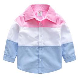2018 boutique abbigliamento per bambini primavera estate ragazzo cotone cardigan bel colpo a maniche lunghe camicia a quadri bambini camicia a quadri da bei modelli neri fornitori