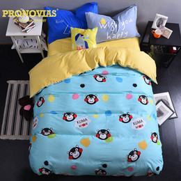 Wholesale King Doona Covers - monkey head modern cotton bedding set king queen size doona duvet cover bed sheet pillow cases bed linen set