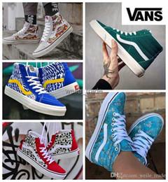 New Arrival Old Skool Hamersveld OG SK8-HI Reissue zapatillas de deporte  White Mens Womens Casual Designer Shoes Canvas off Sports Sneakers 5afab018a