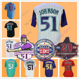 Wholesale Cool Yellow - Randy Johnson Jersey 2001 WS Retirement 2015 Hall Of Fame 20th Season Patch Men Women Youth Cooperstown Cool Base Arizona Montreal Seattle