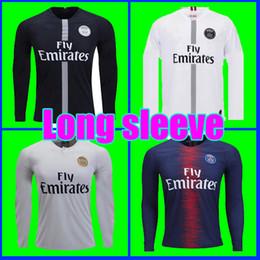 74dff2693268a6 LONG SLEEVE Tailândia qualidade AIR PSG JORDAN 3RD third camiseta de fútbol  2019 camisa Paris Saint Germain NEYMAR JR MBAPPE soccer jerseys camisa ...