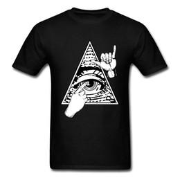 mestre de línguas Desconto Língua Mestre N Olhos Tops Camisa Empresa Homens de Manga Curta Top T-Shirts Normal Verão Tee-Camisas Para Os Homens New Arrival Moda Camiseta