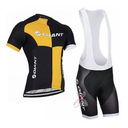 2019 GIANT squadra ciclismo maglia Bicicletta maillot traspirante MTB Racing ropa ciclismo manica corta quick dry abbigliamento bici GEL PAD H2301 da