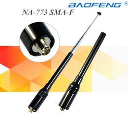 Na-773 Sma-f Kadın Çift Bant Anten Tk 3107 Için Puxing Baofeng Uv-5r Px-888k Tg-uv2 Walkie Talkie nereden
