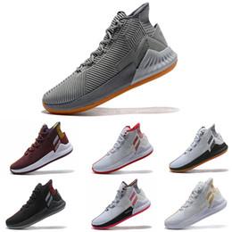 восходящие ботинки Скидка Adidas cool DERRICK ROSE'S D ROSE 9 для мужчин Баскетбольная обувь All Star Баскетбольные кроссовки Размер 7-11.5Размер US5.5-11