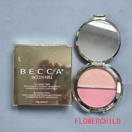Tonos de paleta online-En stock Becca Shimmering Skin Perfector 4 tonos cremoso polvo prensado becca bronceador resaltador paleta de larga duración