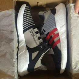 Wholesale hot shoe arm - (With Box) Hot Men Women Overkill X Consortium EQT 93 17 Ultra Boost Support Future Coat Of Arms Pack Sports Shoes Sneakers Running Shoes