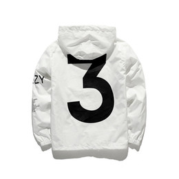 Argentina KANYE Chaqueta Hombre KANYE Hip Hop Cazadora TOUR 3 Chaquetas Hombre Mujer Streetwear Moda Abrigos abrigo negro uniforme Blanco YEEZUS Y3 Chaqueta .. Suministro