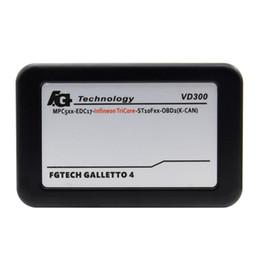 Wholesale ecu master - FgTech V54 VD300 FG TECHE V54 ECU Flasher Fgtech Galletto 4 Master VD 300 Support OBD BDM Function