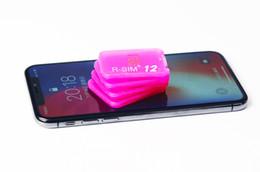 desbloqueio de chip Desconto Original R sim 12 desbloquear para ios11.3 sim12 ios 11 ICCID Desbloqueio para iPhoneX 8 8PLUS 7 7plus 6s 6 GPLTE 4g
