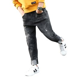 df5deb2d Boy's jeans, Children's clothing kids boys jeans spring and autumn children  pants 4 5 6 7 8 9 10 11 12 13 14 15 years old