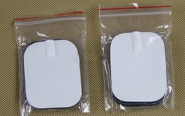 Argentina Promoción 20 unids / lote almohadillas de electrodo de acupuntura de buena calidad para TENS, masajeador adelgazante, Digital Therapy Machine Masssager Pads Suministro