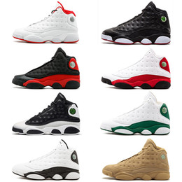 b3886f0fa55618 2018 New 13s basketball shoes black cat Playoffs Pure Money Chicago He got  game for mens trainers Sports sneakers size 8-13 on sale