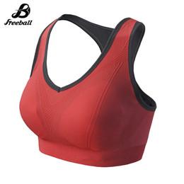 Wholesale Padded Running Bra - Jimesports 2018 Women Seamless Removable Padded Gym Sports Bra Yoga Fitness Wireless Bra Underwear Athletic Vest Gym Fitness Running Bra