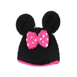 dcd65803983 Mi Woollen 100%Handmade Baby Hat hundred Days Men and Women Baby Full Moon Hats  0-3month Baby Wool Bonnet Photography cky Cap