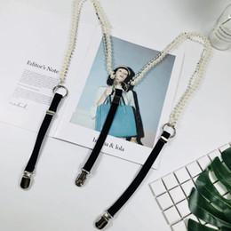 Argentina Cadena de perlas clip de correa trasera decorativo super - hada guapo ajustable elástico elástico tensión suspender clip de cinturón marea de las mujeres Suministro