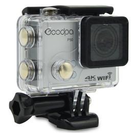 Goodpa P50 Ultra HD 4 k 30 fps 2.7 k 30 fps cámara de deportes a prueba de agua WIFI límite de control remoto movimiento DV 32 G tarjeta SD regalo desde fabricantes