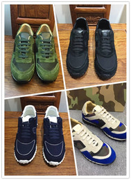 Wholesale navy boys - Luxury men rivets sport Running Shoes sneakers Trainers driving Fashion loafers flats boys Casual shoes moccasins Genuine Leather