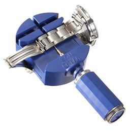 Argentina Nuevo Arrvial !!! Enlace de reloj Para Banda Correa Correa Pulsera Cadena Pin Remover Ajustador Kit de herramientas de reparación 28 mm para hombres / mujeres reloj Suministro