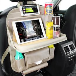 Car Front Seat Back Organizer Multifunction Hanging Travel Storage Bag Universal Auto Holder Pockets New Arrival