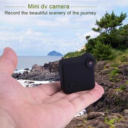 Wholesale Micro Action Camera - Portable C1 Mini Action Sport WiFi Camera amcoeder 720P HD Body Camera Motion Sensor Micro Detection DV with Clamp Mount