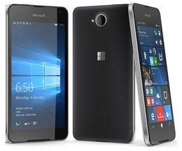 Телефоны microsoft lumia онлайн-Оригинал Nokia Microsoft Lumia 650 Четырехъядерный 16 ГБ ROM 1 ГБ RAM мобильный телефон 4G WIFI GPS 8MP 720 P Камера Восстановленное сотовый телефон