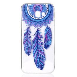 TPU suave transparente para Samsung Galaxy J4 Plus cubierta de la caja decoración del color de la torre de la bicicleta Butterfly Girl diseño del teléfono móvil Shell desde fabricantes
