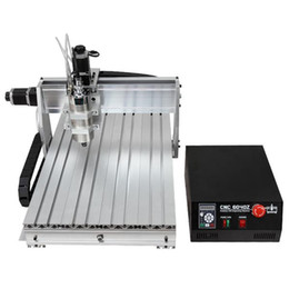 Wholesale Machine Spindles - CNC 6040 3-axis 1500W CNC Router Engraver With Double-Spindle For Wood Metal Aluminum CNC Cutting Milling Drilling Engraving Machine