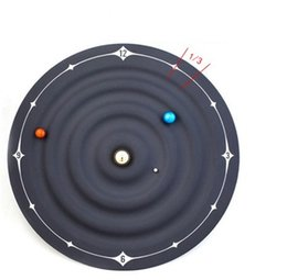 relógio mágico Desconto Criativo Electric Home Moda Relógios Mars Earth Magia Vênus Ponteiros Suspensão Decoração Pingente de Relógio de Parede Magnético Galáxia 120 hs hh
