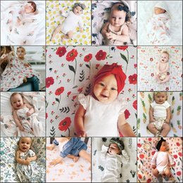 Wholesale Toddler Animal Towels - Toddler Newborn Baby Infant Kids Muslin Swaddle Soft Sleeping Blanket Wrap Bath Towel Swaddle Blanket Towel