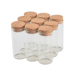 50 pcs 30x70 mm 30ml bouteilles de tube de verre à fond plat avec bouchons Wishing Stars fioles décoratives vides thé parfumé petits pots ? partir de fabricateur