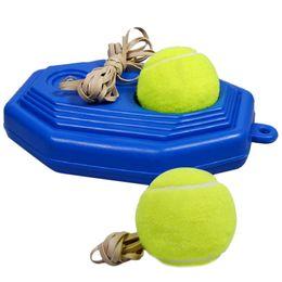 blu macchina palle Sconti Base di plastica del piedistallo della nuova macchina blu dell'attrezzatura di addestramento di affare per la pallina da tennis
