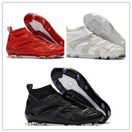 Wholesale David Beckham - Wholesale Predator Accelerator DB David Beckham Capsule FG Soccer Cleats Mens Soccer Shoes Football Boots FG Football shoesDrop Shipping