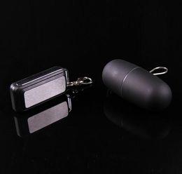 Llavero del coche Mini mando a distancia inalámbrico vibrador mudo del huevo a prueba de agua 50 velocidades de adultos juguetes de la máquina del sexo para mujeres envío gratis desde fabricantes