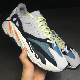 Wholesale online media - Sply Boost 700 Boost 700 Kanye West Wave Runner 700 Sneakers Athletic Sneaker with double box sports shoes fashion sneaker Online Cheap