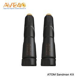 Canada ATOM Sandman Mech Kit avec atomiseur de réservoir Njord RDA avec flux d'air à trois angles Alimenté par un seul kit 18650 Batterie E-cig (sans pile) supplier rda e cig battery kits Offre
